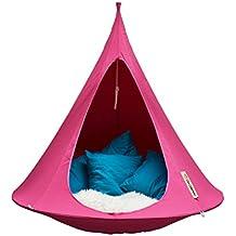 Cacoon Single tenda sospesa, colore: fucsia