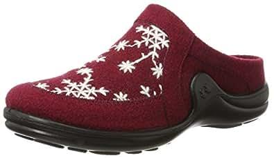 Romika Damen Mikado 98 Pantoffeln, Rot (Bordo-Kombi (411)), 43 EU