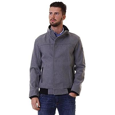 Emporio Armani EA7 men's outerwear jacket blouson grey from Emporio Armani EA7