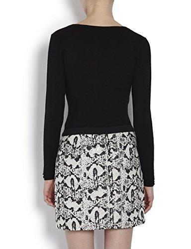 Morgan Damen Pullover 142-Maz.M Schwarz