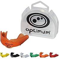 OPTIMUM Matrix Mouthguard-Naranja, Junior, Niño, Infantil