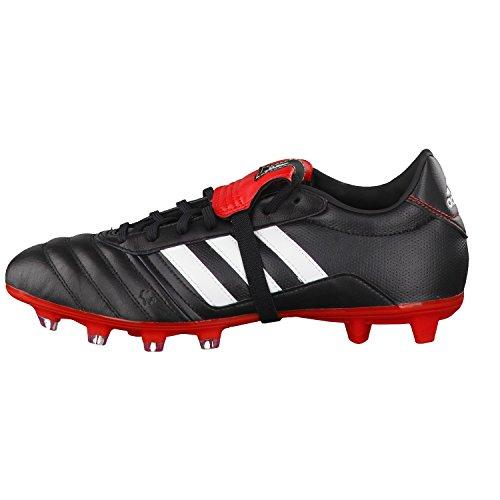 adidas Gloro FG Herren Fußballschuhe Schwarz (Core Black/Ftwr White/Vivid Red S13)