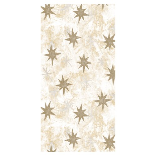 Susy Card 11253283 Tischdecke Weihnachten,Motiv Sternstunde creme, Softdecor (stoffähnlich) bedruckt