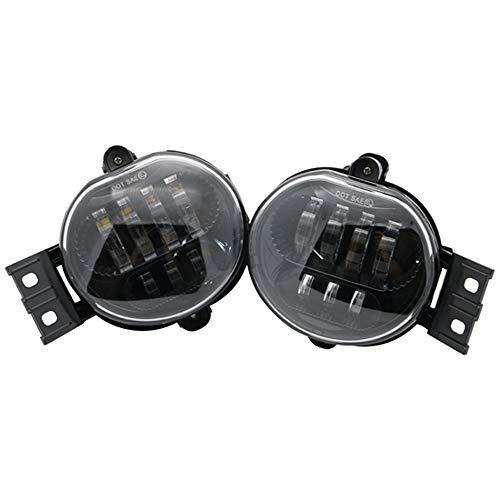 Hadeyicar Auto-Zubehör LED-Scheinwerfer Nebelscheinwerfer - für Dodge Ram Lichter 2500 1500 3500 für Dodge Durango Neue Karosserie-Stil Nebelscheinwerfer verwendet,Schwarz