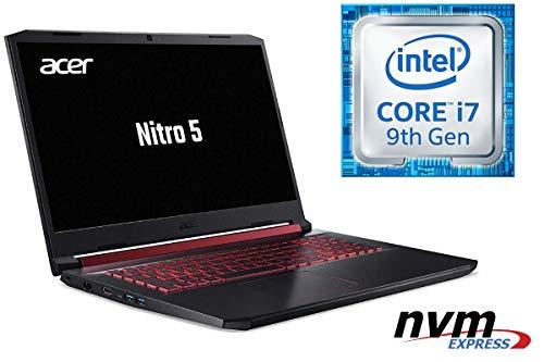 Notebook Nitro 5 AN517 - CORE i7-9750H - 32GB DDR4-RAM - 1000GB SSD + 1000GB HDD - Windows 10 PRO - 44cm (17.3