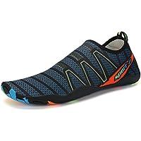 Zapatos de Agua Escarpines Zapatillas Calzado EN Playa Arena Rocas Mar Río  Piscina Deporte Buceo Surf 947f2f34202