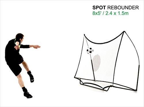 QUICKPLAY Kickster Combo 2,4 x 1,5m Fußballtor & Rebounder - 8