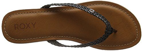Roxy Carmen, Tongs Femme Multicolore (BLACK)
