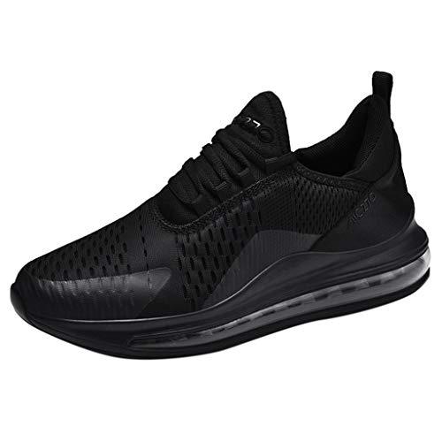 Unisex Sportschuhe Herren Damen Air Cushio Laufschuhe Sneaker Straßenlaufschuhe Outdoor Leichtgewichts Freizeitschuhe Fitness Gym Mesh Bequem Joggingschuhe Gr.39-47 EU