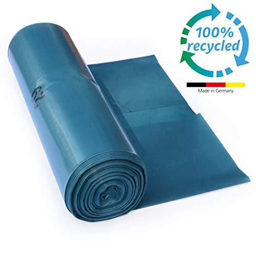 ProfessionalTree 120 L Müllsäcke - extrem reißfest - 25er Rolle - Typ 100 extra - Abfall-Säcke XXL Abfallbeutel - 70 μ - 700x1100 mm - LDPE - blau (Blau Hoch Mülltonne)