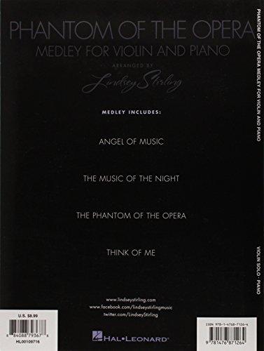 Phantom of the Opera: Medley for Violin and Piano-