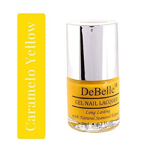 DeBelle Gel Nail Lacquer Caramelo Yellow - 8 ml ( Yellow Nail Polish)