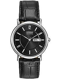 Citizen BM8240-03E - Reloj de Cuarzo para Hombre con Correa de Piel, Color Negro