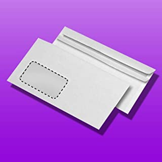 Self-Adhesive with Window Pack of 1000 Envelope DL & # 252 CK
