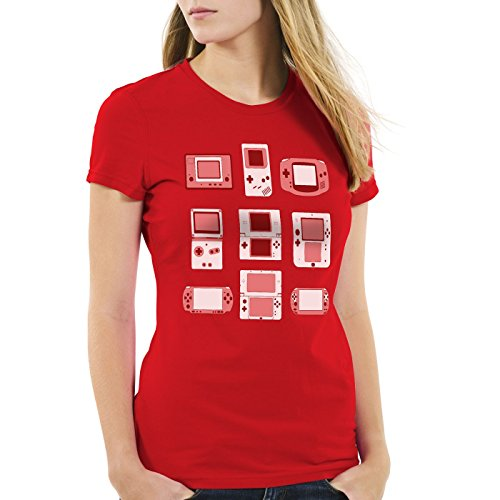 A.N.T. Handheld Console Women's T-Shirt controller video game console