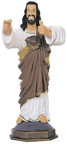 Close Up Buddy Christ Figur Statue (Jesus Figur)