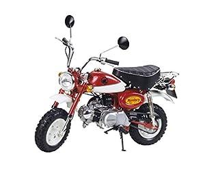 Tamiya 10.16030 Modelo de vehículo de Tierra Previamente montado Motocicleta - Modelos de vehículos de Tierra (Previamente montado, Motocicleta, Honda Monkey 2000, Rojo, CE, 100 mm)