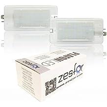 Zesfor Luces de matrícula LED para Hyundai Elantra ...