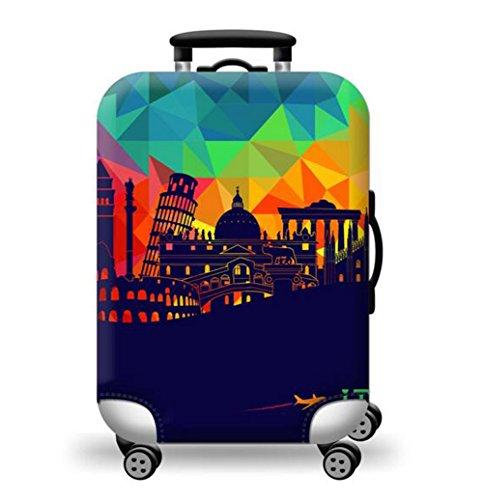 Custodia protettiva da viaggio impermeabile Custodia protettiva da viaggio Custodia protettiva Copertura elastica Copri bagagli Copertina elastica (S2, XL)