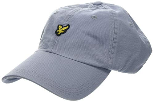 Lyle & Scott Washed Twill Baseball Cap Casquette, Bleu (Cloud Blue), Taille Unique Homme
