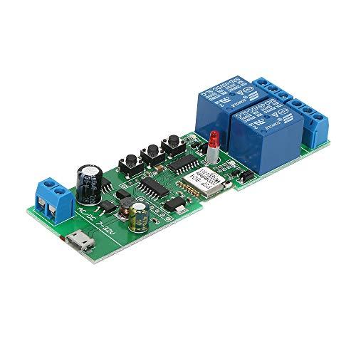 """Sonoff Intelligente Interruttore WiFI, 2CH DC5V / 7-32V Senza Fili Modulo Interruttore Universale Timer per Smart Home Compatibile con\""""Amazon\"""" Alexa Google Home"""