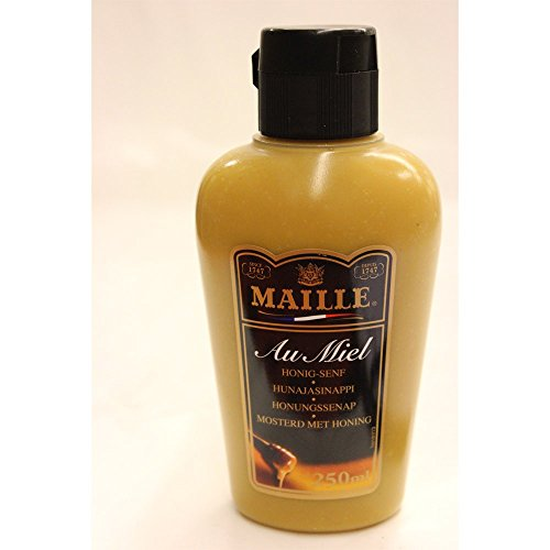 mostaza Maille Dijon con la preparación de miel, 250 ml