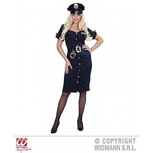 Lively Moments Langes, sexy Kostüm - Polizistin Michele Gr. L = 40/42 (Sexy Police Girl Kostüm)