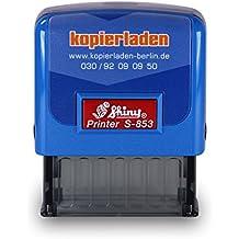 Shiny Printer Rot S-842 Büro Stempel Kissen Rot Büro & Schreibwaren Gefaxt Am