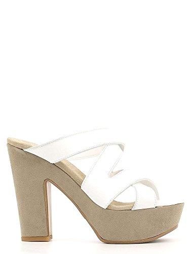 Grace Shoes P219TC Sandales à talons hauts Femmes Or Doré - Chaussures Sandale Femme