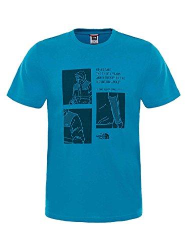 The North Face Celebration Herren-T-Shirt Blau