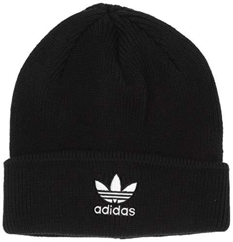 Adidas ORIGINALS Damen Originals Trefoil Beanie Mütze, schwarz/weiß, Einheitsgröße