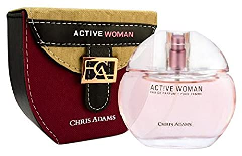 Chris Adams Perfumes Hot Active Woman Perfume for Women, Platinum Collection by Chris Adams Perfumes