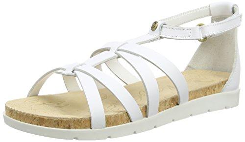 Panama Jack - Marisa, Scarpe col tacco con cinturino a T Donna Bianco (Bianco)
