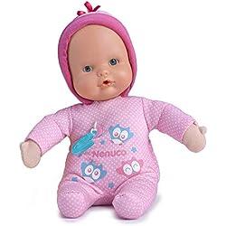 Nenuco Muñeco blandito Canción de Cuna, color rosa, (Famosa 700014038)