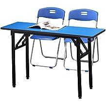 xinrongqu Mesa De Entrenamiento para Conferencias Plegable Y Mesa De Entrenamiento De Oficina con Tira De
