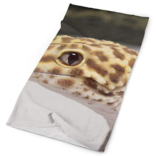 Bikofhd Stirnbänder Leopard Kopfbedeckung Bandana Schweißband Gamasche Kopf Wickeln Maske Hals Outdoor Schal Fashion20 (Leopard Kapuzen Schal)