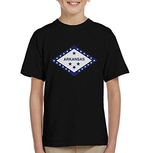 Coto7 Arkansas State Flag Kid's T-Shirt