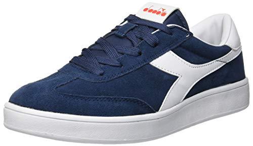 Diadora field gs, scarpe sportive unisex – bambini, multicolore (blu denim scuro 60033), 38 eu