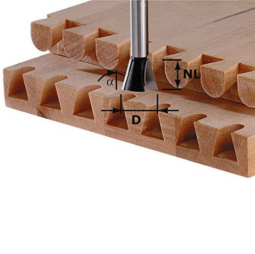 FESTOOL Grat-/Zinkenfräser HS Schaft 8 mm - Verschiedene Durchmesser Durchmesser: 20 mm