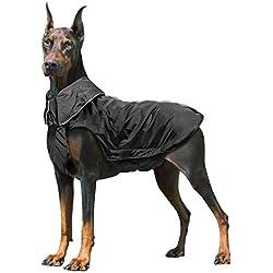 Wooce Chaqueta Impermeable Para Perros De Invierno Muy Cálido