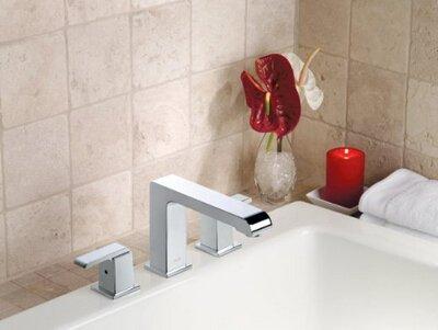 Verkleidung Sammlung (Galvanik Retro Wasserhahn Deck montiert Roman Tub Faucet Verkleidung von der Banbury Sammlung, Spot widerstehen, Chrom, Weiß)