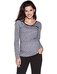 Be! Mama Stillshirt, Umstandsshirt, Schwangerschaftsshirt, Modell: Monic - hochwertige Baumwolle