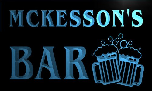 w044544-b-mckesson-name-home-bar-pub-beer-mugs-cheers-neon-light-sign-barlicht-neonlicht-lichtwerbun