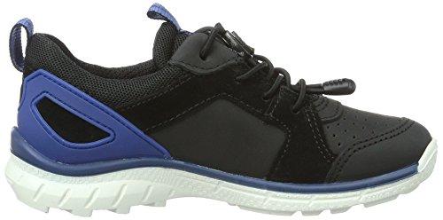 Ecco Biom, Chaussures Multisport Outdoor Garçon Noir (51707Black/Black)