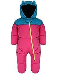 Dare 2b Bebés Bugaloo II Mono de nieve - rosa - azul, 36-48M