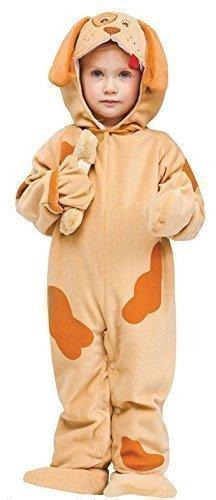 Fancy Me Baby Kleinkind Tier Overall Halloween büchertag Kostüm Kleid Outfit 6 Monate - 2 Jahre - Welpe, 12-24 Months (Welpe Kleinkind Halloween Kostüme)