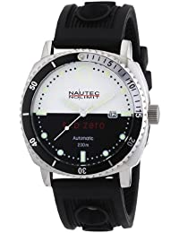 Nautec No Limit Herren-Armbanduhr Sub Zero SZ AT/RBSTSTBKWH