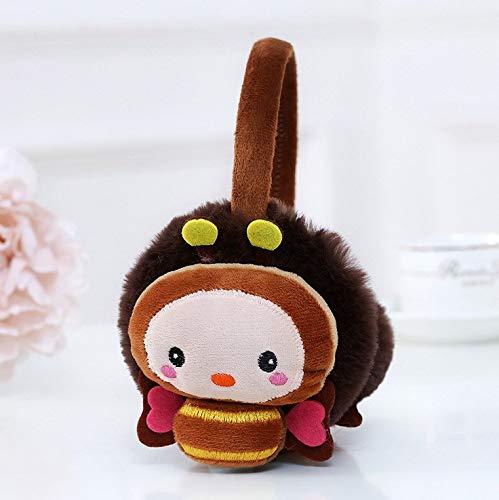 vfhvfbbv Ragazzi Ragazze Alunni Bambini Inverno Caldo Cashmere Carino Protezioni per Le Orecchie Baby Ear muff Warmer Xiaomi Feng caffè