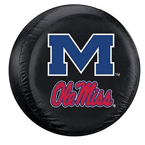 Harry wang NCAA Mississippi (Ole Miss) Reserveradabdeckung, Einheitsgröße, MulticolorM 60-69cm (Hats Ole Miss)