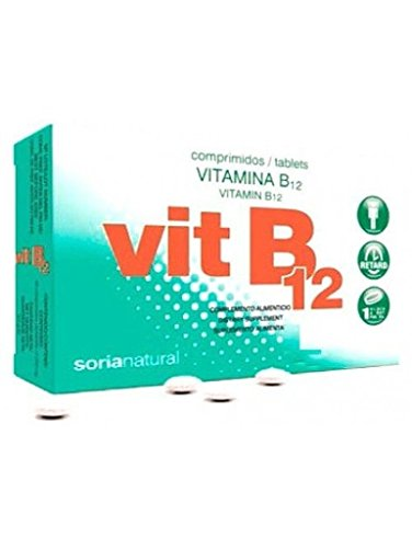 Soria Natural Vitamina B12 Retard - 48 Tabletas